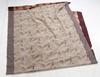 Textil. plysch. trol 1940-tal. ca 150 x 285.