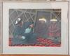 Norrman, lars. färglitografier, 3 st, sign. o numr.