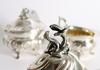 Kaffeservis, 3 delar, silver, rokokostil, c.g.h 1951-51.