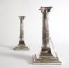 Ljusstakar, ett par, silver, england sheffield 1918.