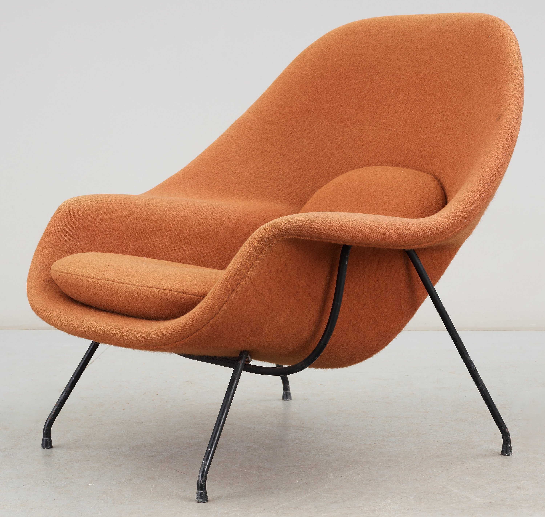 EERO SAARINEN F T Lj Womb Chair Knoll International Modell 70
