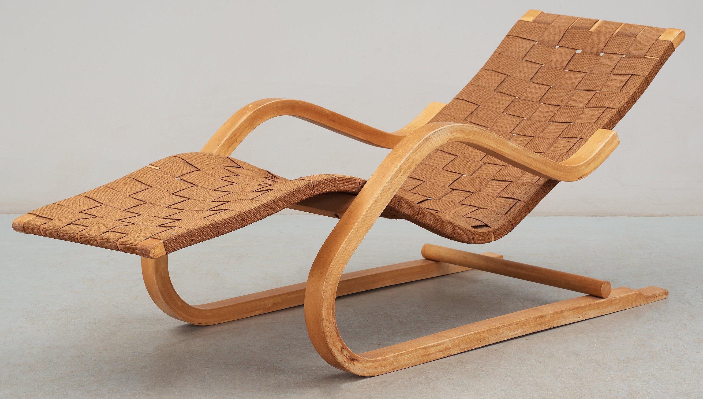 An Alvar Aalto Lounge Chair Model 39 Probably By Artek