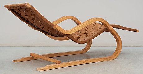 An Alvar Aalto Lounge Chair Model 39 Probably By Artek Finland