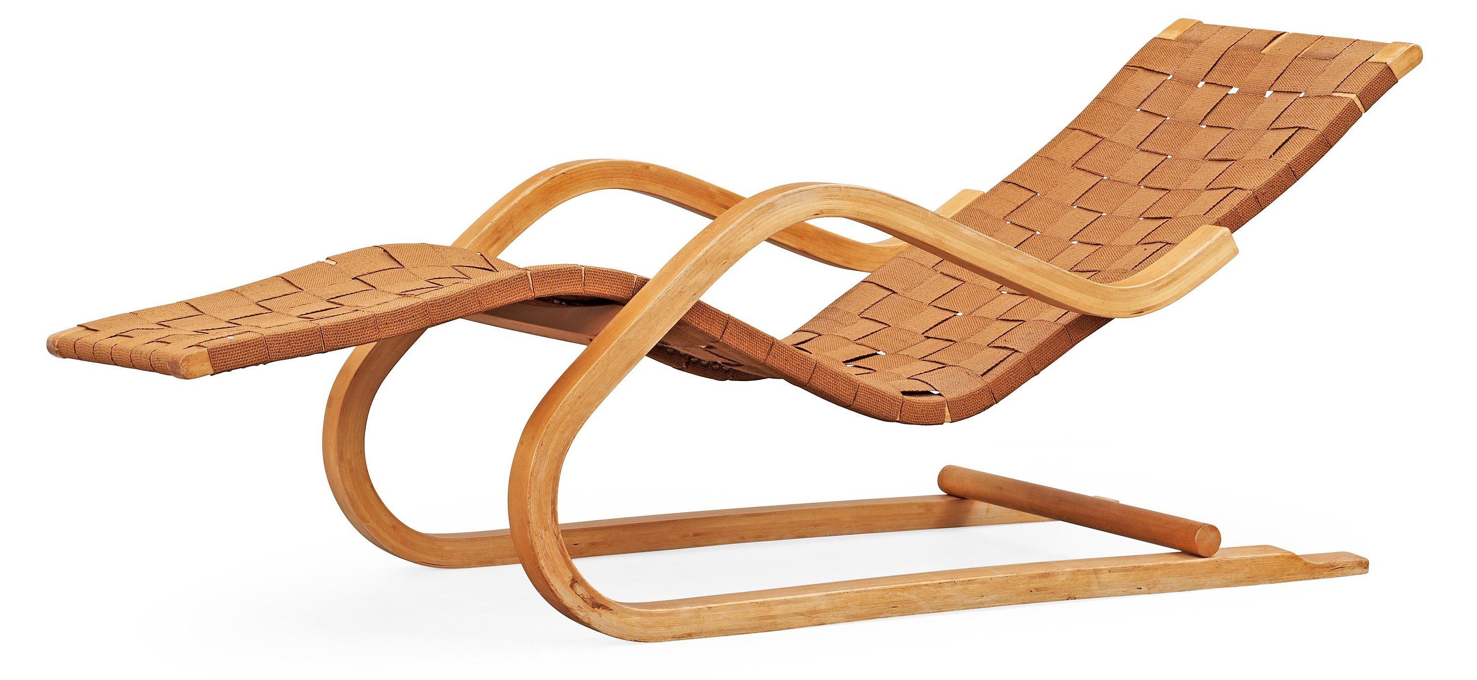 An alvar aalto lounge chair model 39 probably by artek for Alvar aalto chaise