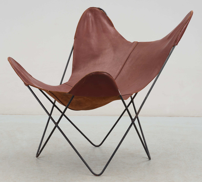 "FåTÖLJ,""Butterfly Fladdermus B K F chair"", 1900 talets mitt Bukowskis"