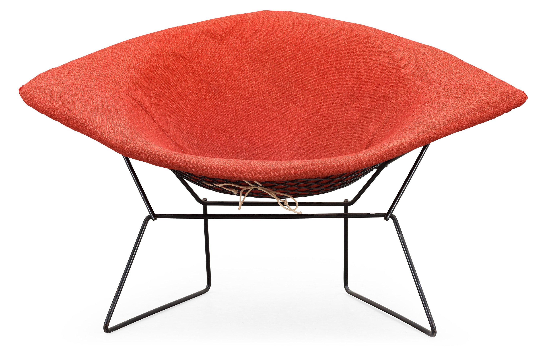 A Harry Bertoia \'Diamond chair\', Knoll Associates, USA or produced ...