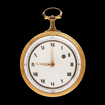 1429. FICKUR, spindelur, tidigt 1800-tal. Vikt 87g.