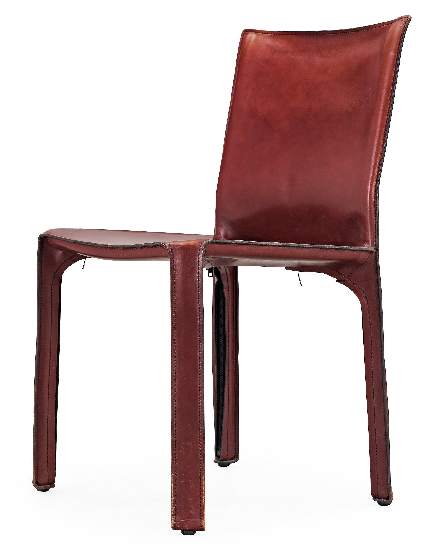 "A Mario Bellini ""Cab"" Chair, Cassina, Italy, Model 412"