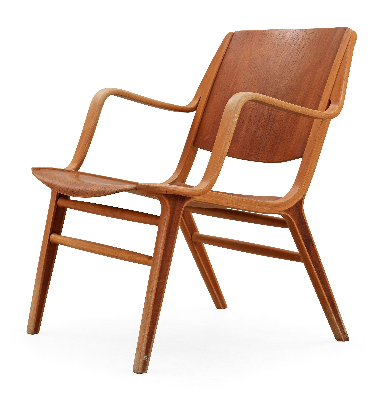 a peter hvidt orla m lgaard nielsen teak and beech 39 ax chair 39 fritz hansen denmark 1950 39 s 60. Black Bedroom Furniture Sets. Home Design Ideas
