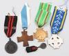 Medaljer, 5 st, finland mest 1930-40-tal.