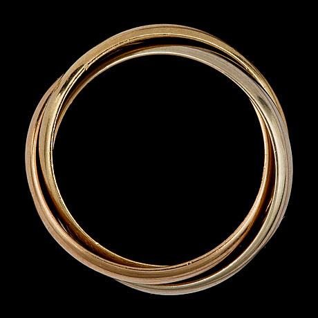 A cartier trinity ring.