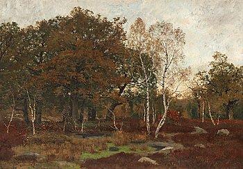OSCAR TÖRNÅ, Forét de Fontainebleau Mare-aux-Fées.