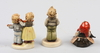 Figuriner, 3 st, porslin. hummel, tyskland.