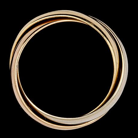 A cartier trinity ring, 1990.