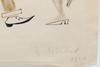 OkÄnd konstnÄr, akvarell. bär sign. lebedev?, dat. 1920. troligen sovjetryssland.
