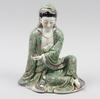 Figurin, porslin. kina. 1900-tal.
