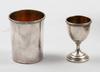 Reseset, 7 delar. silver. cg hallberg bla 1915. modell: rosett.
