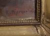 Kjerner, ester. olja på papppannå, sign dat 1945.
