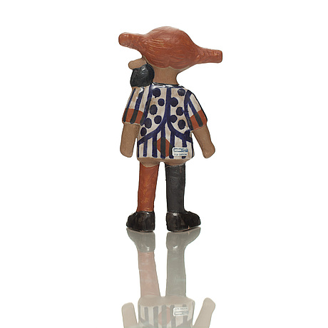 Figurin, stengods,  lisa larson, gustavsberg.