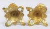Ljusstakar, ett par, mässing, nyrokoko, sent 1800-tal.