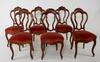 Stolar, 6 st, nyrokoko, 1800-tal.