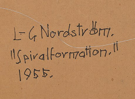Lars-gunnar nordström, spiral formation.