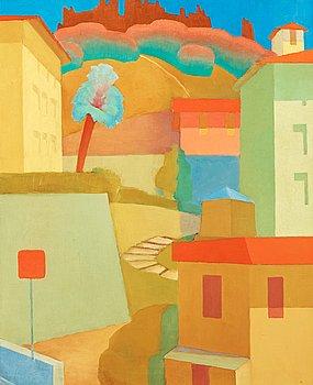 5. Torsten Jovinge, Landscape, Menton.