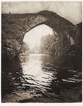 "70. LENNART OLSON, ""Ponte di Navia de Svarina"", 1961."