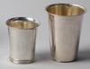 BÄgare, 3 st, silver, bl a gab, 1933-1960.