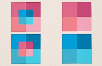 "2. Josef Albers, ""Interaction of Color""."
