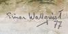 Wallqvist, einar. akvarell. sign o dat 77.