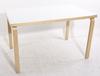 Bord samt stolar, 4 st. alvar aalto, finland.
