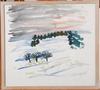 Nordholm, thage. akvarell, sign.