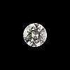 Diamantgradering, a brilliant cut diamond, loose. weight 0.68 cts.