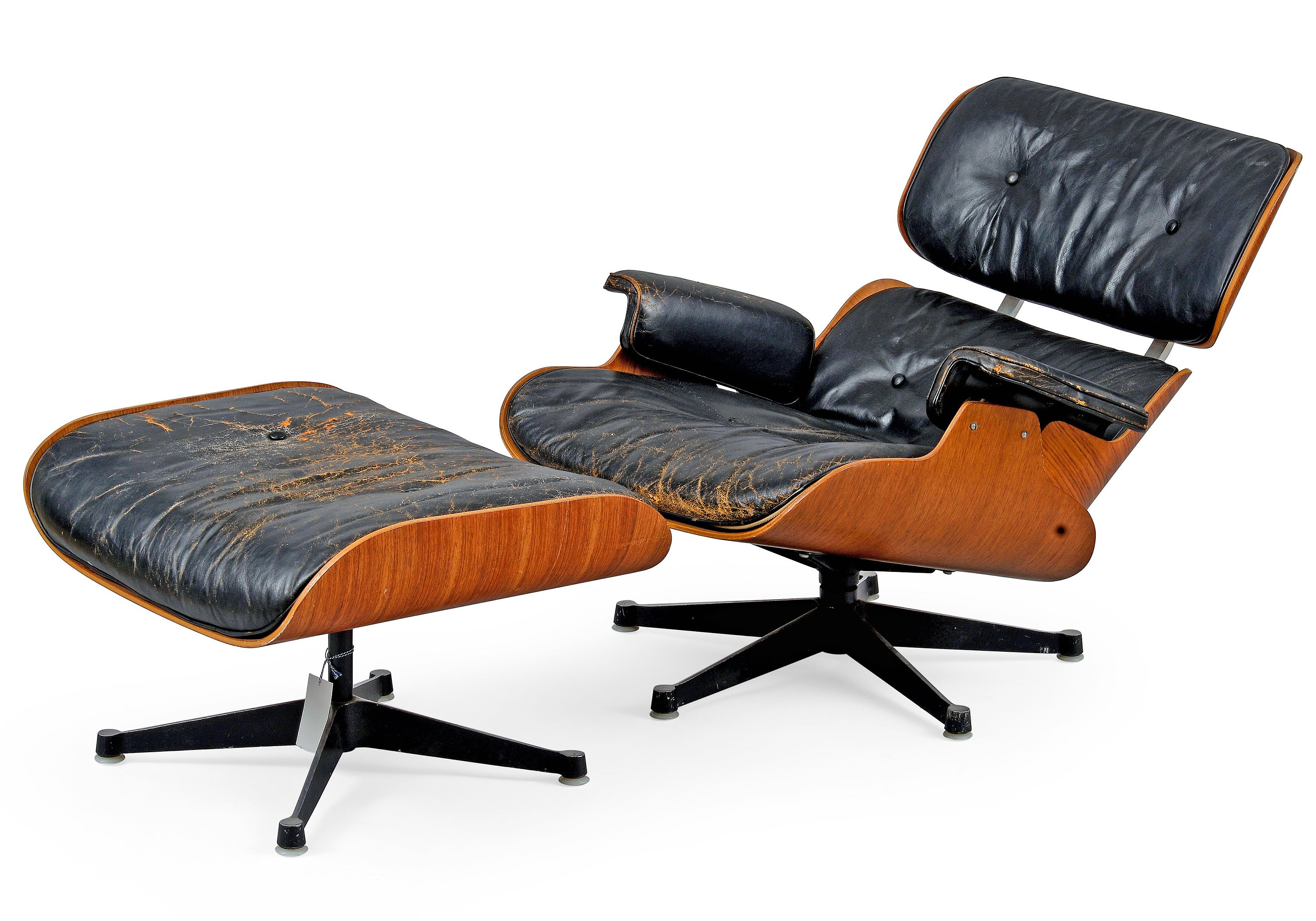 Charles Ray Eames Lounge Chair With Ottoman Bukowskis