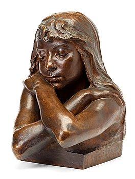 206. Werner Åkerman, Woman with arms crossed.