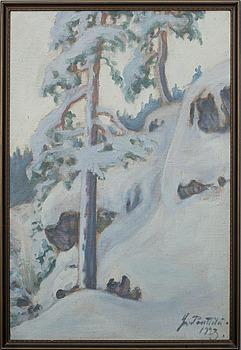 YRJÖ PENTTILÄ (SUOMI), sign. ja päiv. 1923.
