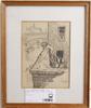 Svensson, roland, litografier, 2 st, sign o numr 1/7 resp 5/15.