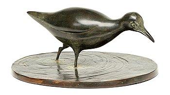 219. Anders Sandström, Wading bird.