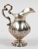 GrÄddkanna, silver, nyrokoko, sverige, otydl stämplar. sent 1800-tal.
