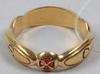 Ring, guld 18 k, 9 g.