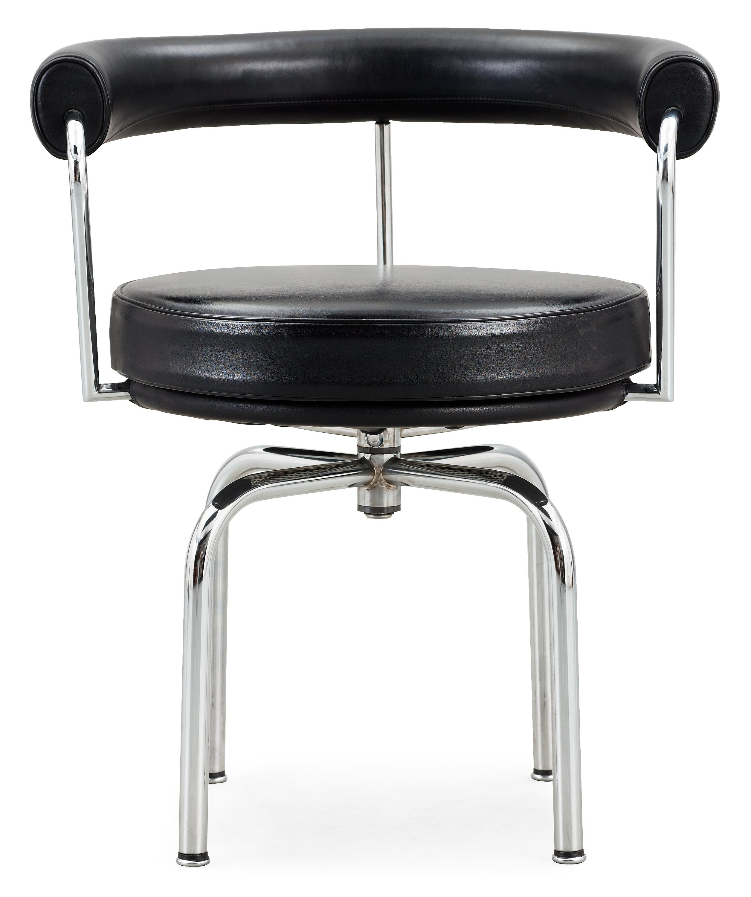 A Le Corbusier Pierre Jeanneret Charlotte Perriand Black Leather