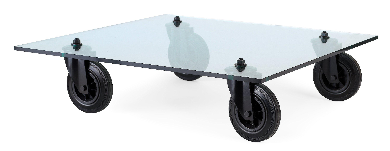 Gae aulenti soffbord tavolo con ruote fontana arte - Tavolo con ruote ...