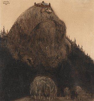 "9. JOHN BAUER, ""Herr Birre och trollen"" (Master Birre and the goblins)."