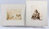 Parti fotografier, 10 st, tanger, marocko, sent 1800-tal.