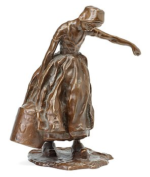 190. Carl Milles, Woman carrying water.