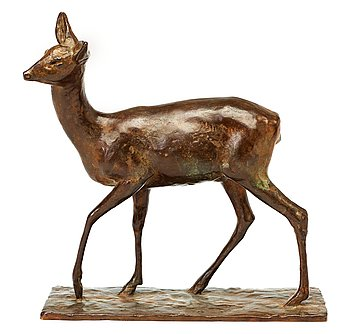 217. Arvid Knöppel, Deer.