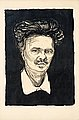 "EDVARD MUNCH, ""August Strindberg"". Lithogra..."