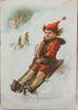 Parti jul- och gratulationskort, mest sverige, sent 1800 till tidigt 1920-tal.