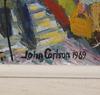 Carlson, john. olja på pannå. sign o dat 1969.